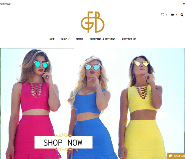 ProWeb Albania FGB - FASHION GIRL BOUTIQUE